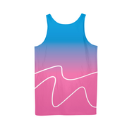 Totally Miami: Wave Mens All-Over Tank | G.O.A.T. GRAPHICS