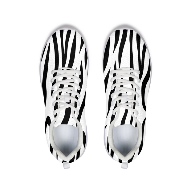 Zebra Stripes Running Shoes | G.O.A.T. GRAPHICS