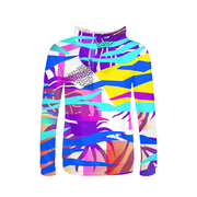 Tropical Vibes Ladies All-Over Hoodie | G.O.A.T. GRAPHICS