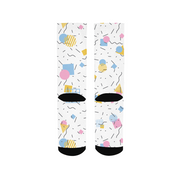 Splash That Geo: Baby Talk Socks | G.O.A.T. GRAPHICS