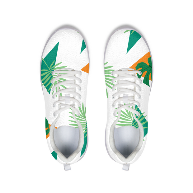 Party Officer White Running Shoes | G.O.A.T. GRAPHICS