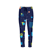 Splash That Geo: Ocean Reef Mens Joggers | G.O.A.T. GRAPHICS