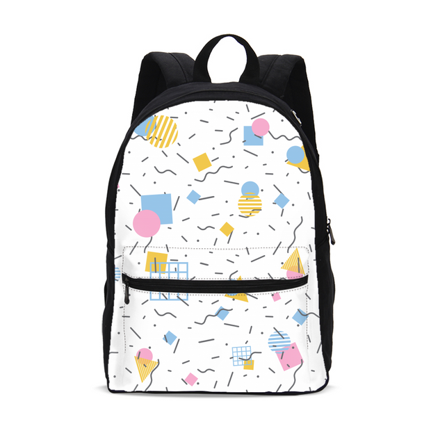 Splash That Geo: Baby Talk Small Backpack | G.O.A.T. GRAPHICS