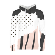 Dots & Stripes Mens All-Over Hoodie | G.O.A.T. GRAPHICS
