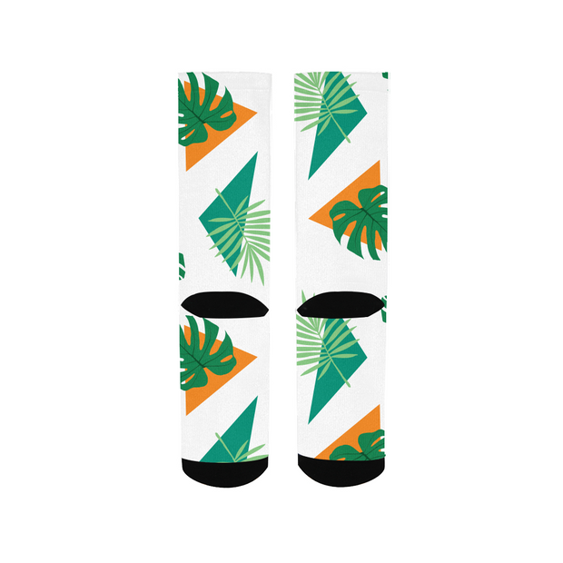 Party Officer White Socks | G.O.A.T. GRAPHICS
