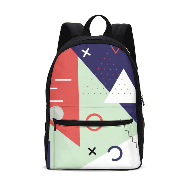 X's & O's Small Backpack | G.O.A.T. GRAPHICS