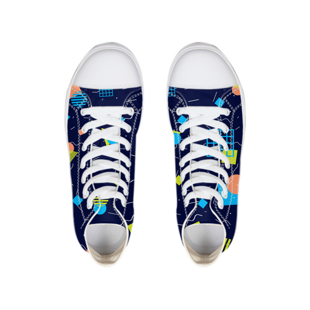 Splash That Geo: Ocean Reef High Tops | G.O.A.T. GRAPHICS