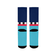 Hit the Slopes: Blue Horizon Socks | G.O.A.T. GRAPHICS