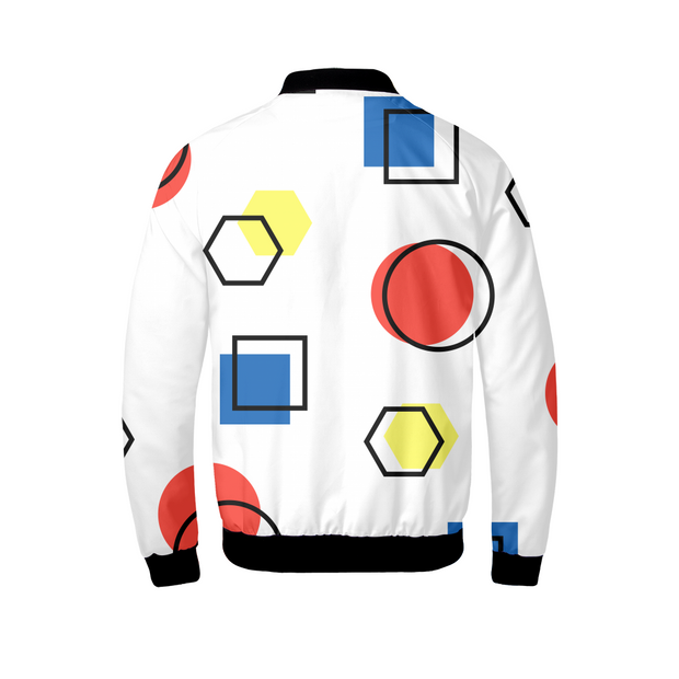Memphis Style Mens Bomber Jacket | G.O.A.T. GRAPHICS