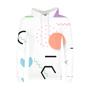 Neon Shapes Mens All-Over Hoodie | G.O.A.T. GRAPHICS