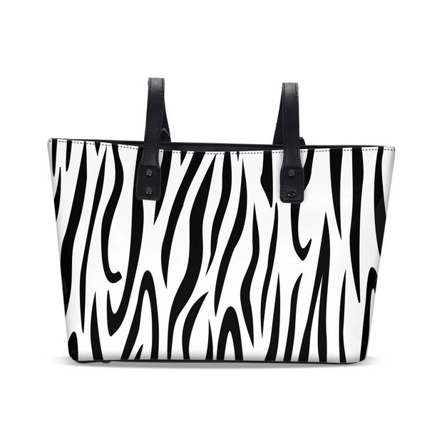 Zebra Stripes Tote | G.O.A.T. GRAPHICS