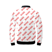 Babe Pattern Ladies Bomber Jacket | G.O.A.T. GRAPHICS