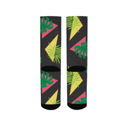 Party Officer Black Socks | G.O.A.T. GRAPHICS