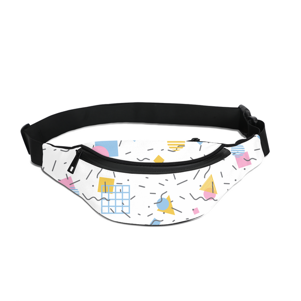 Splash That Geo: Baby Talk Fanny Pack | G.O.A.T. GRAPHICS