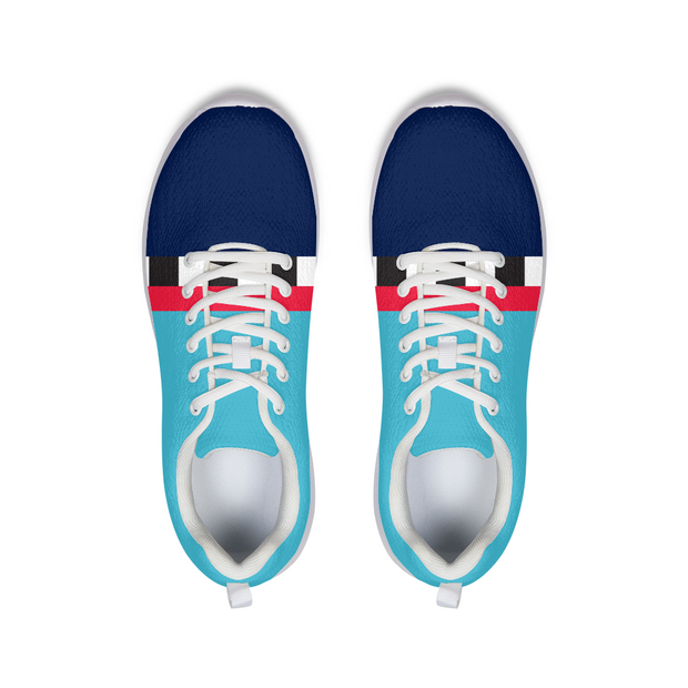 Hit the Slopes: Blue Horizon Running Shoes | G.O.A.T. GRAPHICS