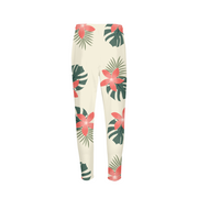 Aloha Cream Breeze Mens Cream Joggers | G.O.A.T. GRAPHICS