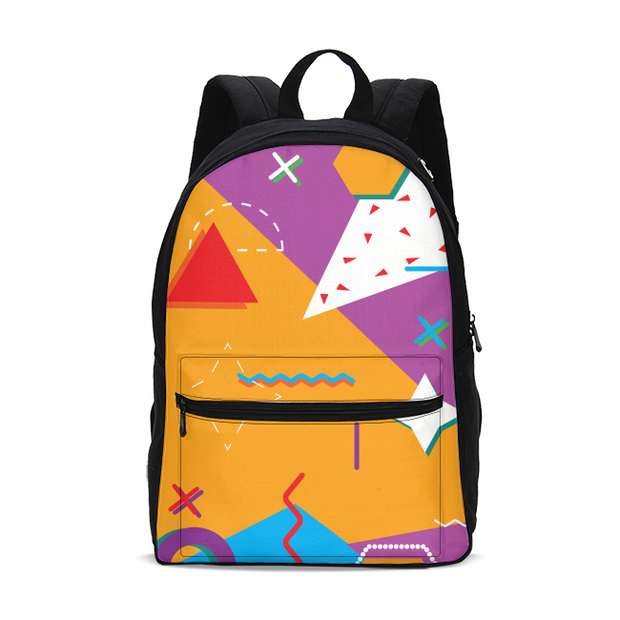 Pop Art Pattern Small Backpack | G.O.A.T. GRAPHICS