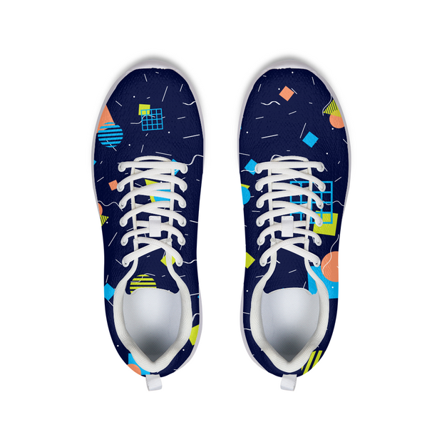 Splash That Geo: Ocean Reef Running Shoes | G.O.A.T. GRAPHICS