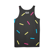 G.O.A.T. Speckles Mens All-Over Tank | G.O.A.T. GRAPHICS