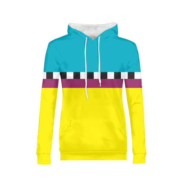 Hit the Slopes: Hazard Horizon Ladies All-Over Hoodie | G.O.A.T. GRAPHICS