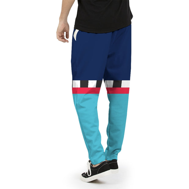 Hit the Slopes: Blue Horizon Mens Joggers | G.O.A.T. GRAPHICS