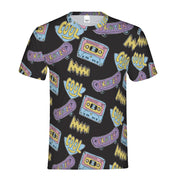 Cool Skater Pattern Men's Tee | G.O.A.T. GRAPHICS