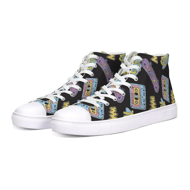 Cool Skater Pattern High Tops | G.O.A.T. GRAPHICS