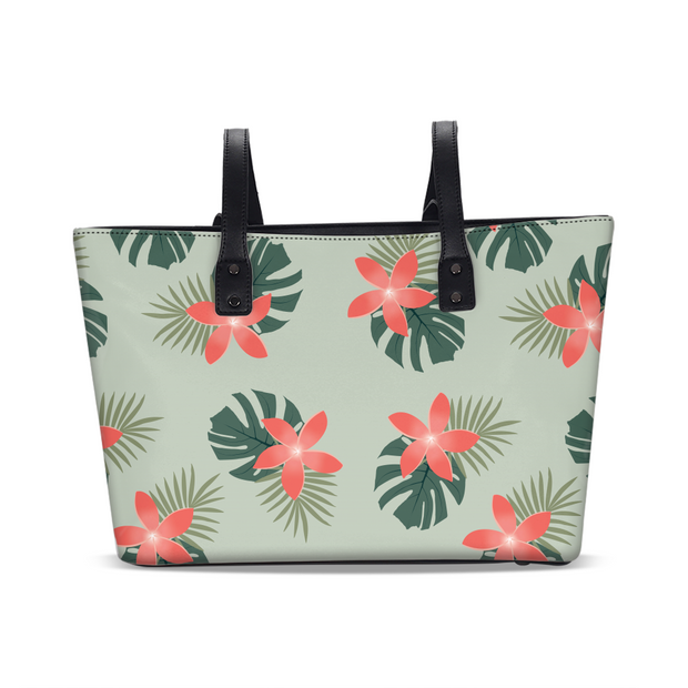 Aloha Breeze Green Tote | G.O.A.T. GRAPHICS