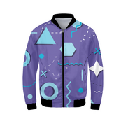 Chill Shapes Mens Bomber Jacket | G.O.A.T. GRAPHICS