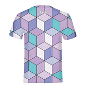 Abstract Cubes Mens All-Over Tee | G.O.A.T. GRAPHICS