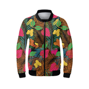 Wild Garden Ladies Bomber Jacket | G.O.A.T. GRAPHICS