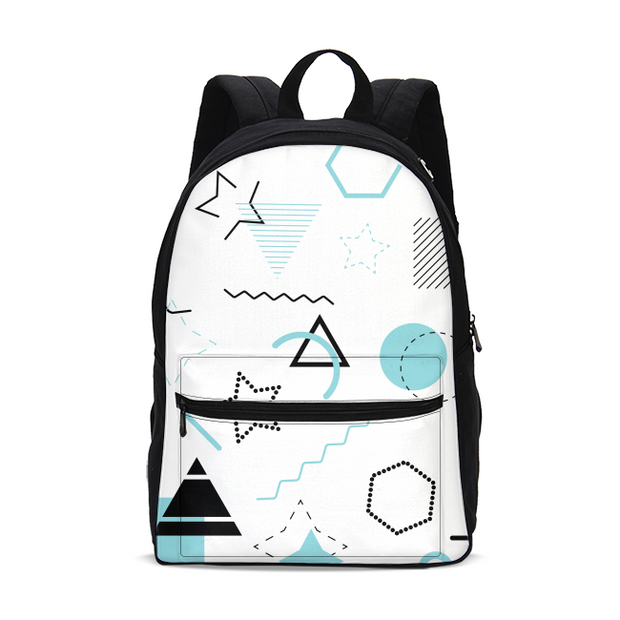 Scribbled Small Backpack | G.O.A.T. GRAPHICS