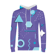 Chill Shapes Mens All-Over Hoodie | G.O.A.T. GRAPHICS