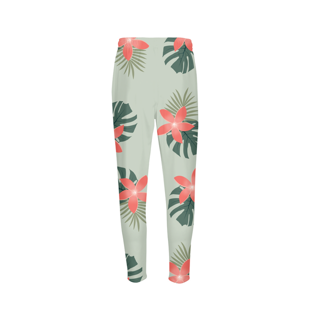 Aloha Green Breeze Mens Green Joggers | G.O.A.T. GRAPHICS