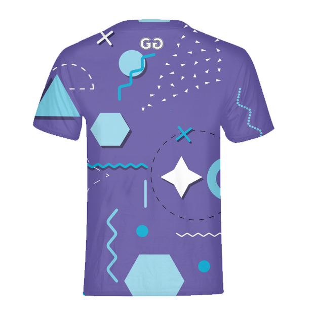 Chill Shapes Mens All-Over Tee | G.O.A.T. GRAPHICS