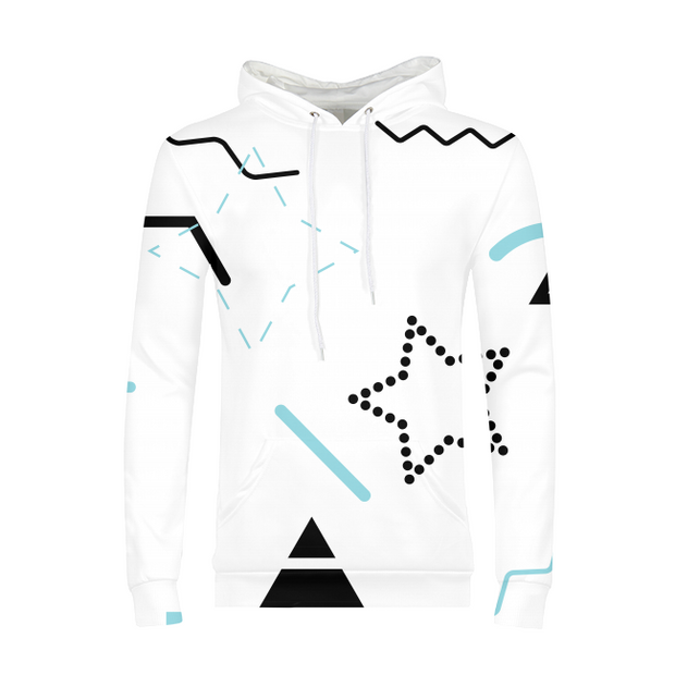 Scribbles Mens All-Over Hoodie | G.O.A.T. GRAPHICS