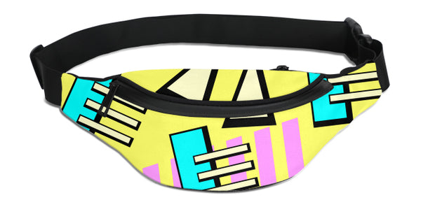 90's Shapes Fanny Pack | G.O.A.T. GRAPHICS