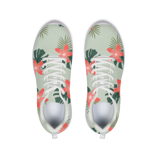 Aloha Breeze Green Running Shoes | G.O.A.T. GRAPHICS