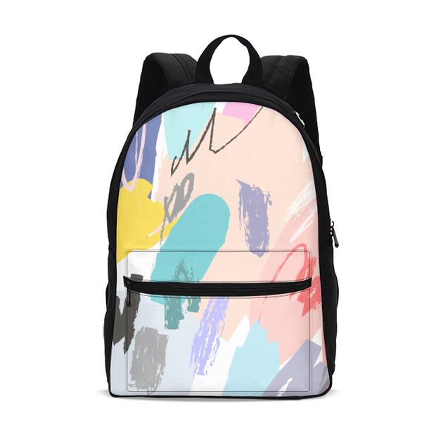 Brush Stoke Small Backpack | G.O.A.T. GRAPHICS