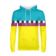 Hit the Slopes: Hazard Horizon Mens All-Over Hoodie | G.O.A.T. GRAPHICS