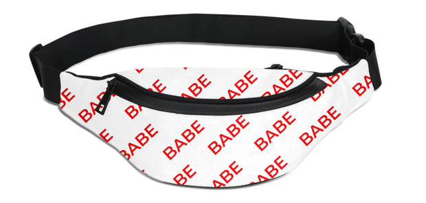 Babe Pattern Fanny Pack | G.O.A.T. GRAPHICS