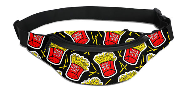 Fries Before Guys Fanny Pack | G.O.A.T. GRAPHICS