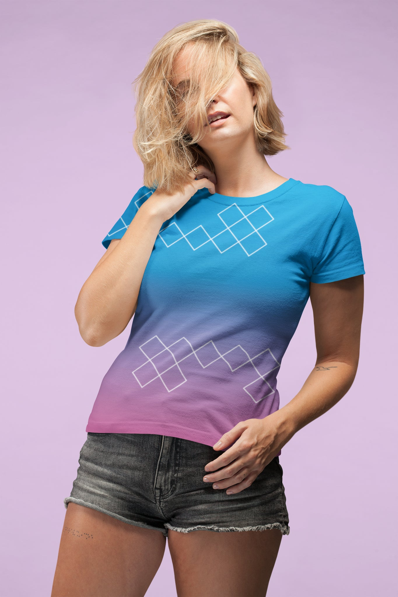 Totally Miami: Rogue Ladies All-Over Tee