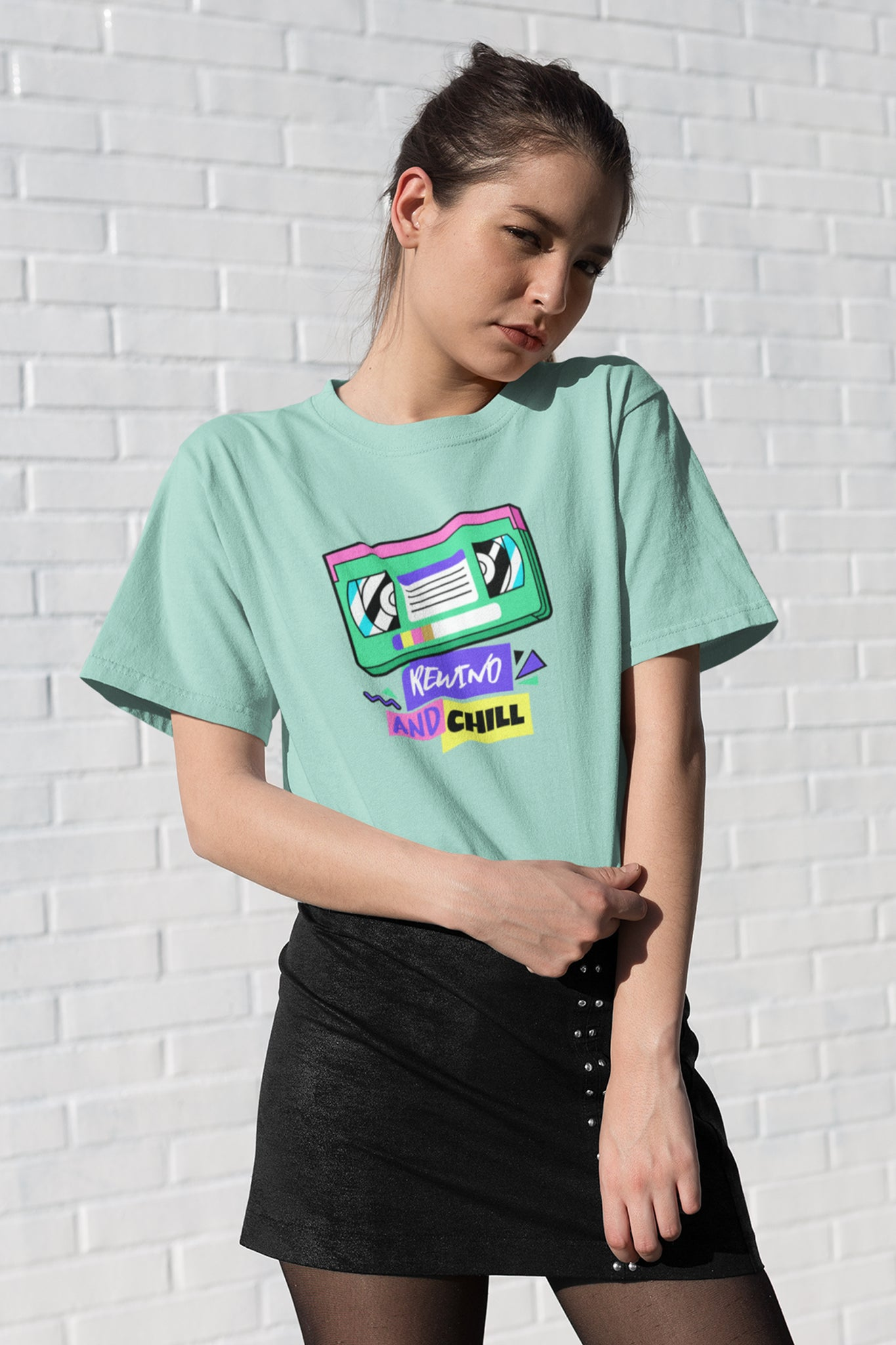 Rewind and Chill Graphic Tee