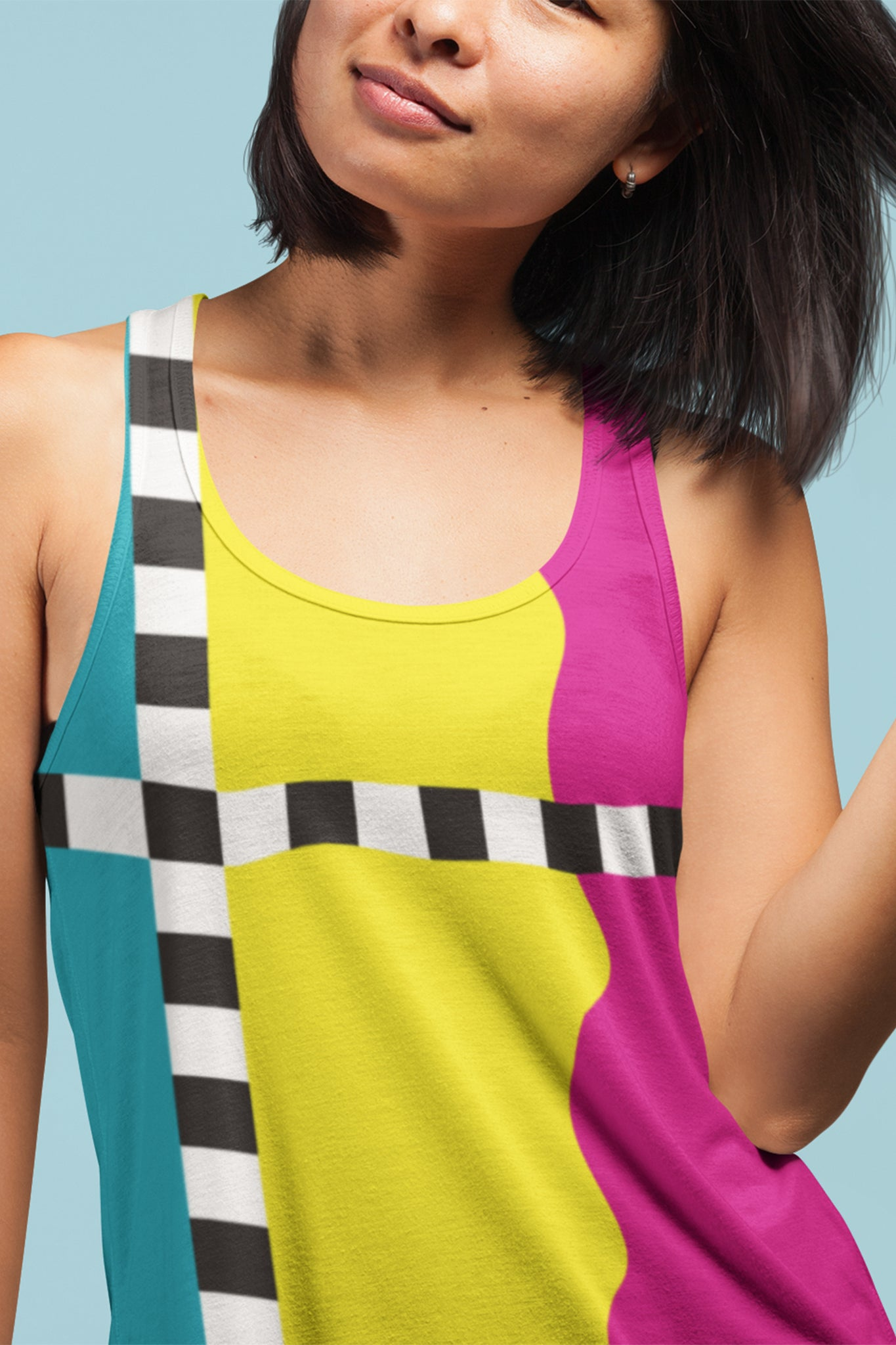 Hit the Slopes: So Solid Ladies All-Over Tank