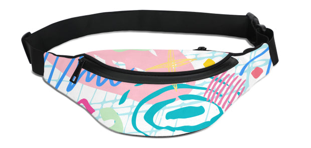 Trendy Print Fanny Pack | G.O.A.T. GRAPHICS