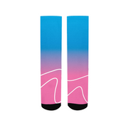 Totally Miami: Wave Socks | G.O.A.T. GRAPHICS