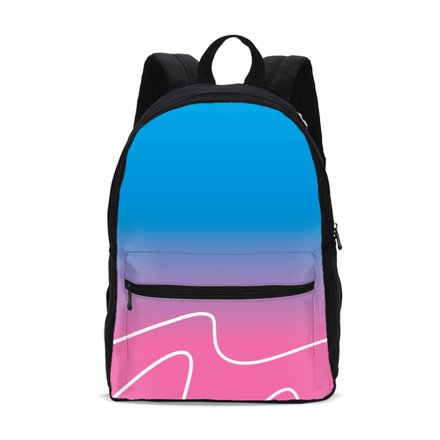 Totally Miami: Wave Small Backpack | G.O.A.T. GRAPHICS