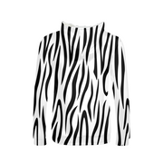 Zebra Stripes Ladies All-Over Hoodie | G.O.A.T. GRAPHICS