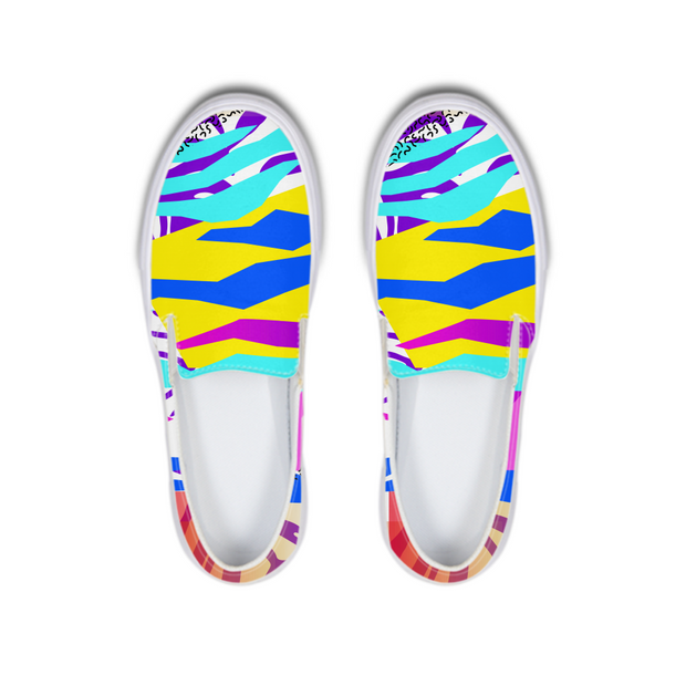 Tropical Vibes Boat Shoes | G.O.A.T. GRAPHICS